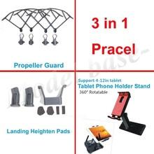 3 in1 Tablet Phone Holder Stand +Propeller Guard+Landing Heighten For DJI MAVIC PRO