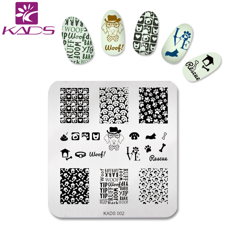 ღ ღKADS Fashion Newest Cute Dog Design Bone&Footprint Pattern ...