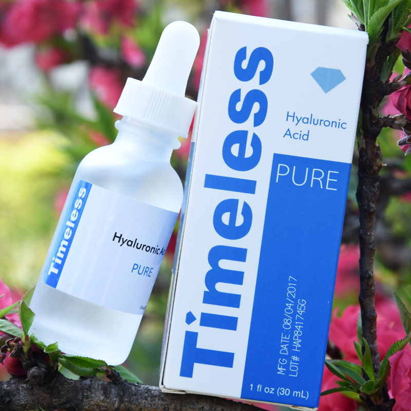 The Best 100% Hyaluronic Acid Pure! Nature! Age Less With Timeless /Sealed 30 ml title=