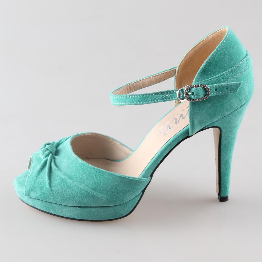 Scarpe Tacco Verde Menta