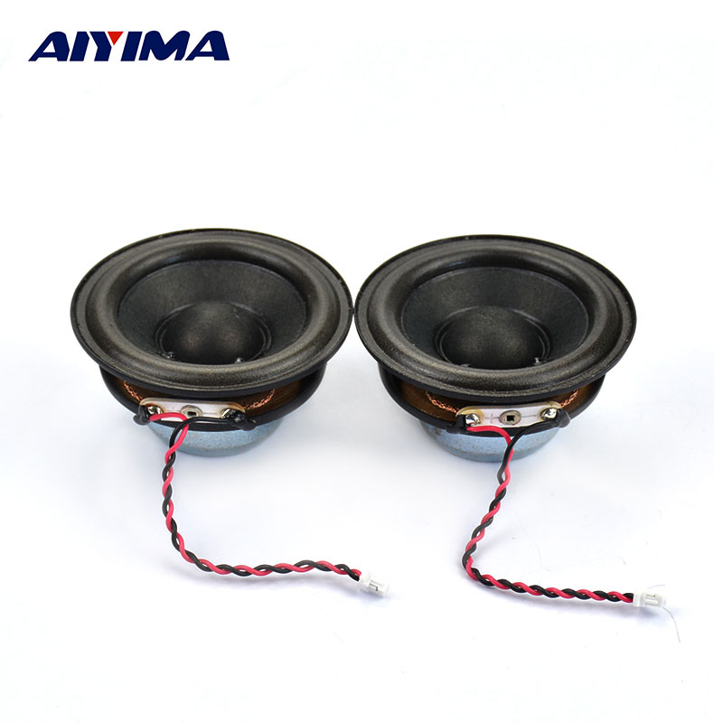 AIYIMA 2Pcs 2Inch 53MM Audio Portable Speakers Full Range 8Ohm 3W Stero Speaker DIY Home Theater Loudspeaker For Stetron