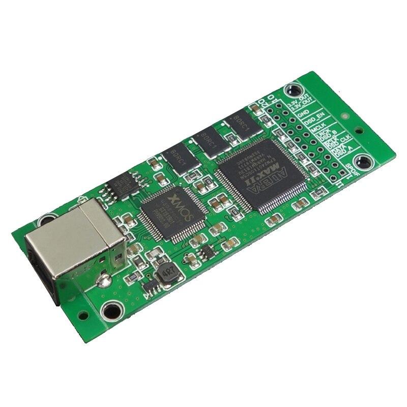 XMOS CPLD XU208 USB interface numérique I2S sortie pour ES9038RPO AK4497 DACAK4497 ES9018 ES9028 ES9038 carte de décodeur DAC