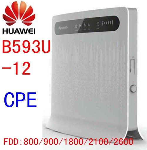 Sbloccato Huawei B593 B593s-12 4g LTE CPE FDD 100 Mbps WIFI Router Wireless LAN, RJ45 Porta pk e5776 b880 b890 e589Sbloccato Huawei B593 B593s-12 4g LTE CPE FDD 100 Mbps WIFI Router Wireless LAN, RJ45 Porta pk e5776 b880 b890 e589