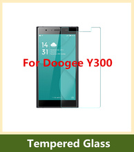 Doogee Y300 Tempered Glass Film Original Ultra Thin Screen Protector front glass film For Doogee Y300 Cellphone Safety Package