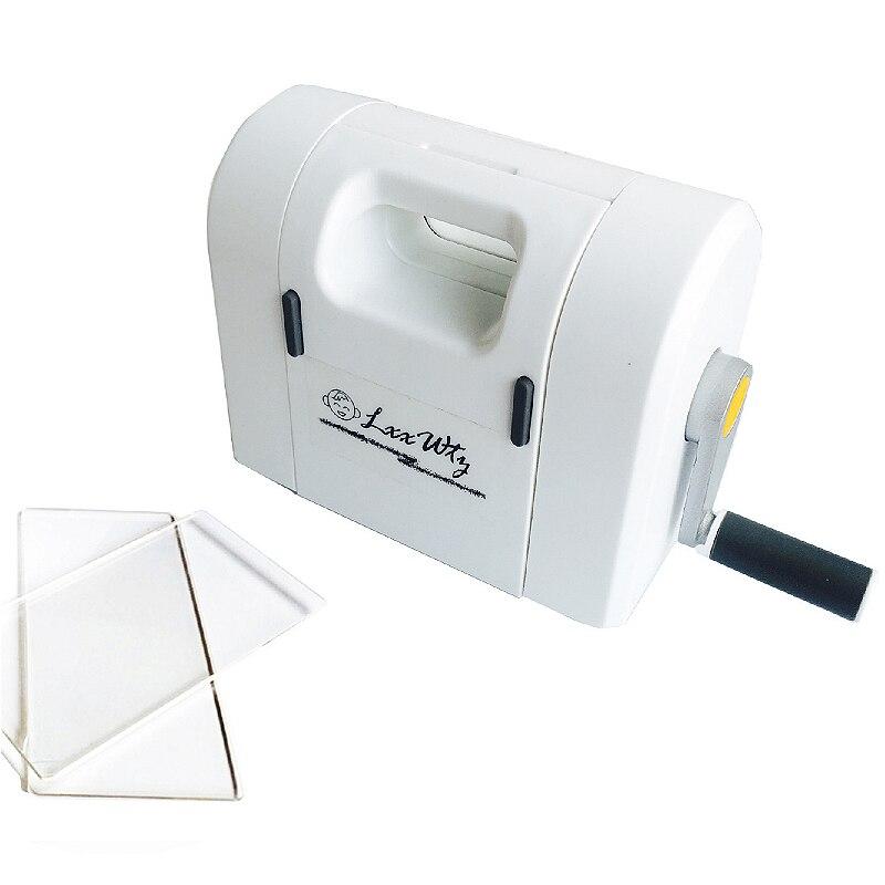 Embossing Scrapbooking Die cutting machine scrapbook photo album card making tool knives molding flower mini paper machine in Cutting Dies from Home Garden