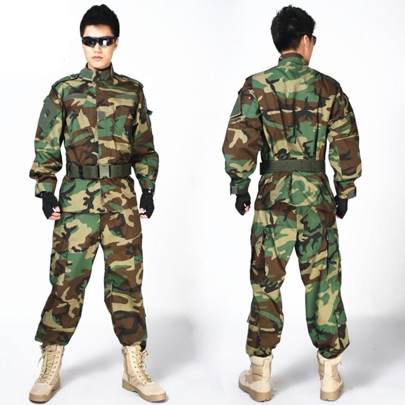 MULTICAM Uniforme ACU Camouflage Vêtements Costumes Pour La Chasse Paintball Militaire Armée Formation Veste + Pantalon