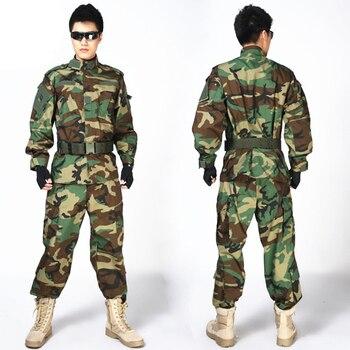MULTICAM mundur ACU kamuflaż garnitury odzież dla polowanie Paintball wojskowe armii kurtka treningowa + spodnie
