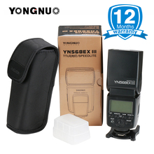 YN568EX II YN568ex YONGNUO YN568EX III High-speed Master Slave Flash TTL Speedlite Flash Light para Canon Nikon 80D D5300 D5100