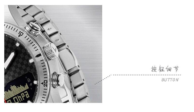NORTH EDGE Men Sport Watch Altimeter Barometer Compass Thermometer Pedometer Calorie Depth Gauge Digital Watch Running Climbing 18