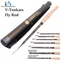 Maximumcatch 9/10/11//12/13FT Classical Tenkara Fly Fishing Rod 7:3 ACTION Super Light Traditional Tenkara Rod with Hook keepers