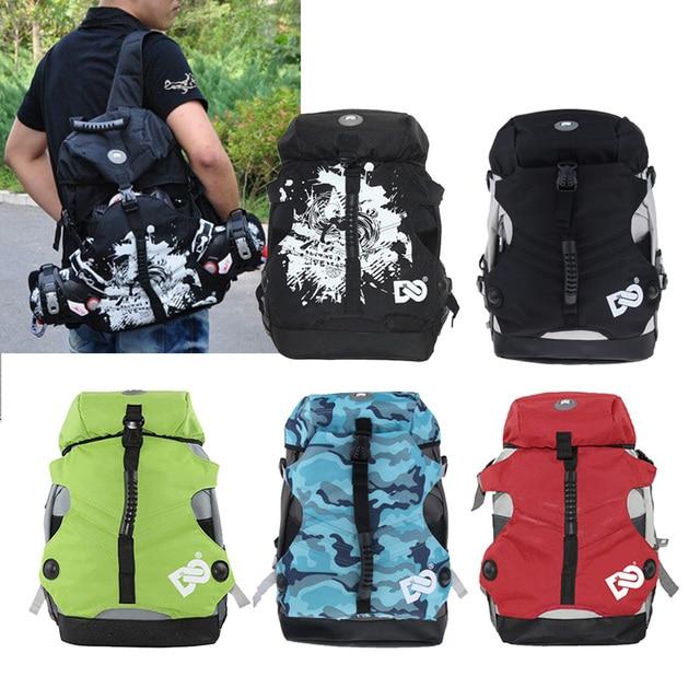 Спортивная сумка для скейтборда шнурки для коньков рюкзак для коньков вращаемый в четырех направлениях сумка для скейтборда коньки для хранения чехол для переноски рюкзак