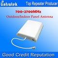 Atacado 4G 700-2700 MHz 8dbi Antena Painel Ao Ar Livre Antena de Telefone Celular Impulsionador 4G para Telefones celulares sinal de Antena Interna S20