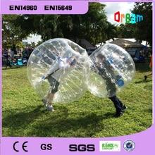 Free Shipping 1 5m TPU Air Bumper Ball Body Zorb Ball Bubble football Bubble Soccer Zorb