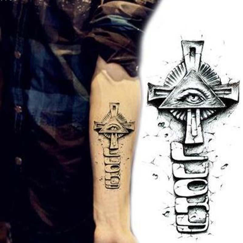 Vintage Cross Tattoos 114