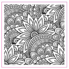Corner of Blooming Flowers Transparent Clear Silicone Stamp Set for DIY Scrapbooking/Photo Album Cards Making Decor