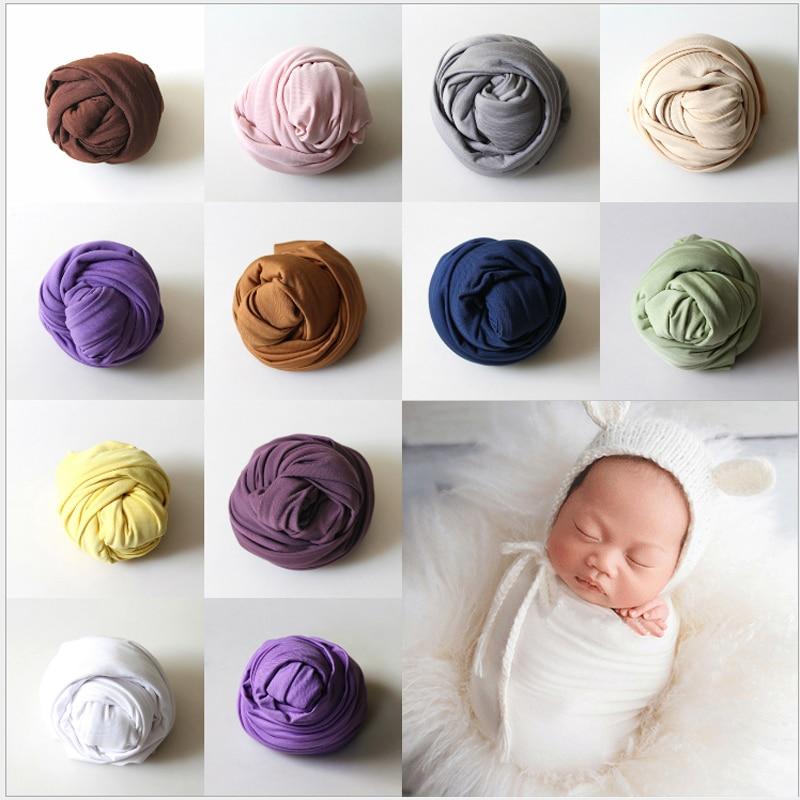 40*160 см стрейч хлопок Обёрточная бумага новорожденных Подставки для фотографий для маленьких детей Nubble район Обёрточная бумага s для береме...