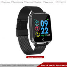 Men's Sporty & Healthy Smart watch Waterproof IP68 Bluetooth Wristband Heart Rate Pedometer Call Reminder Smartwatch Android IOS недорого