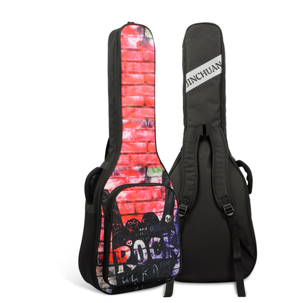 High grade 41 inch senior guitar bag,folk guitar bag, thickening guitar backpack, acoustic guitar bag waterproof free shipping 40inch folk guitar cover waterproof 41inch folk bag travel guitar case 41inch guitar bag folk shoulder strap bag