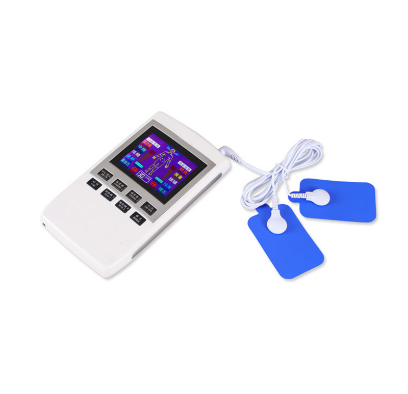 Wide LCD color screen Electrotherapy Physiotherapy Pulse Massager Muscle Stimulator LCD Home Care Monitor монитор wide corporation lcd pa1sa5x корея