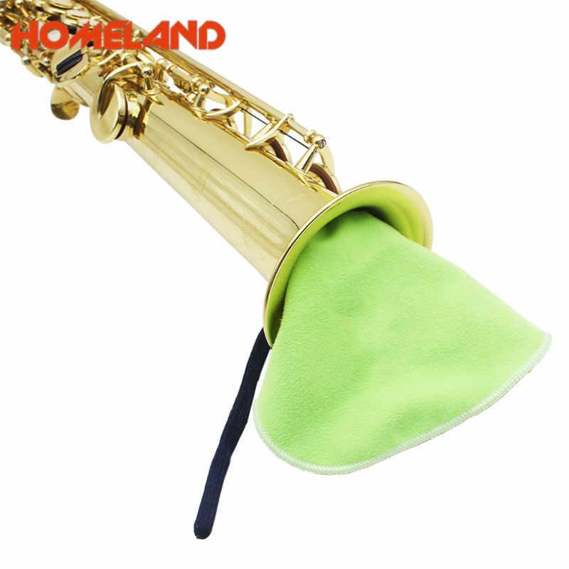 الاكسسوارات الموسيقية الكلارينيت الناي الساكسفون تنظيف الملابس ل داخل أنبوب Woodwind قطع الأدوات دروبشيبينغ