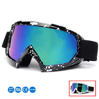 UV400 Windproof Skiing Eyewear Ski Goggles Snow Glasses Antiparras Sports Snowboard Motocross Cycling Sunglasses Snowmobile