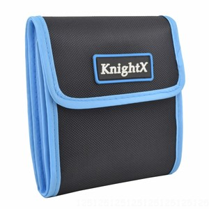 Image 2 - KnightX capuchon dobjectif etui portefeuille sac filtrant pour 49mm 77mm pochette de support UV CPL pour pochette de support UV CPL anneau couleur cokin p series