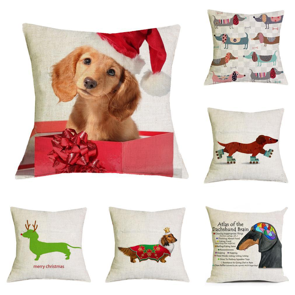 New Design Merry Christmas Dog Pillow Cushion Christmas Decorations ...