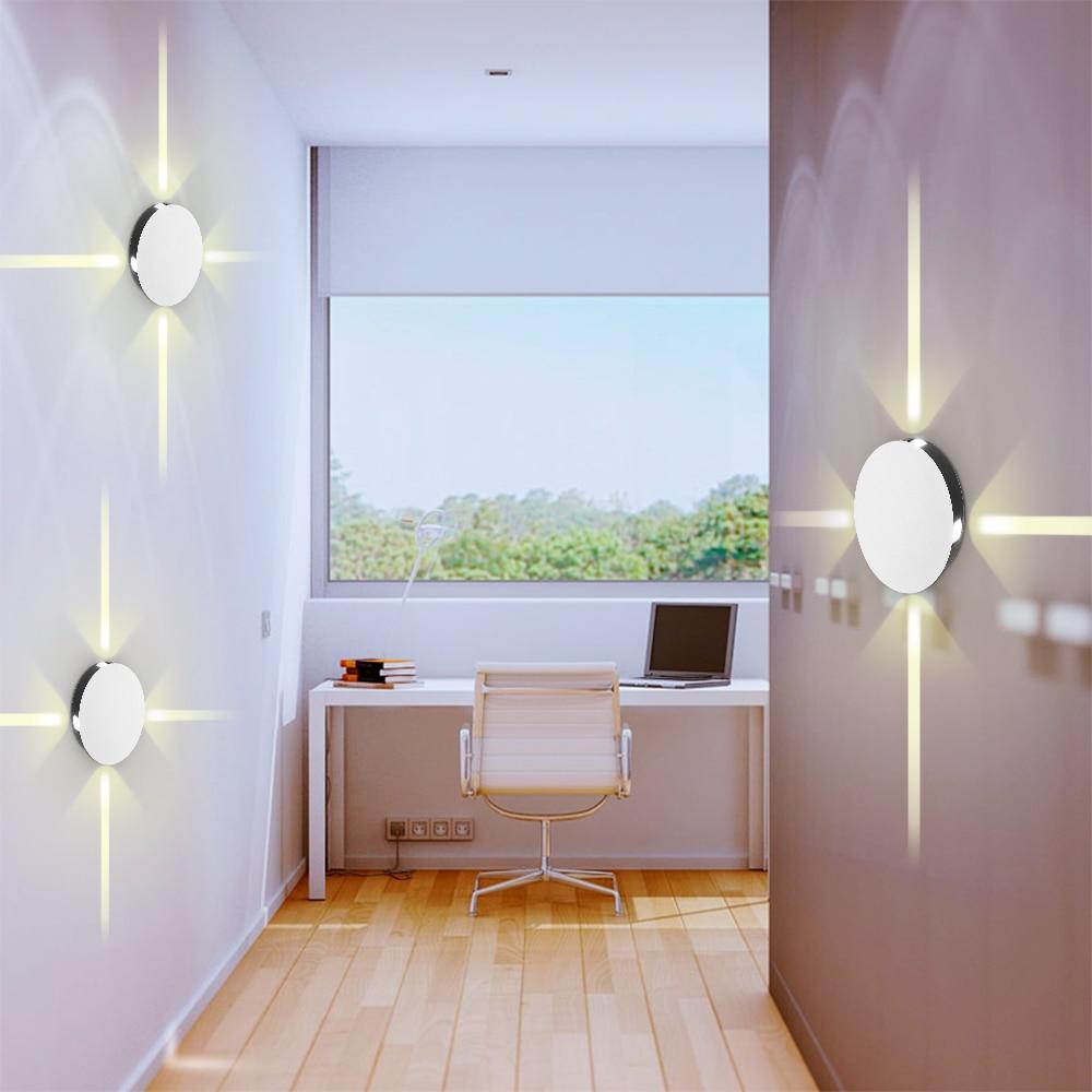 Modern LED Wall Lamp Creative Indoor Light Fixture Wall ...