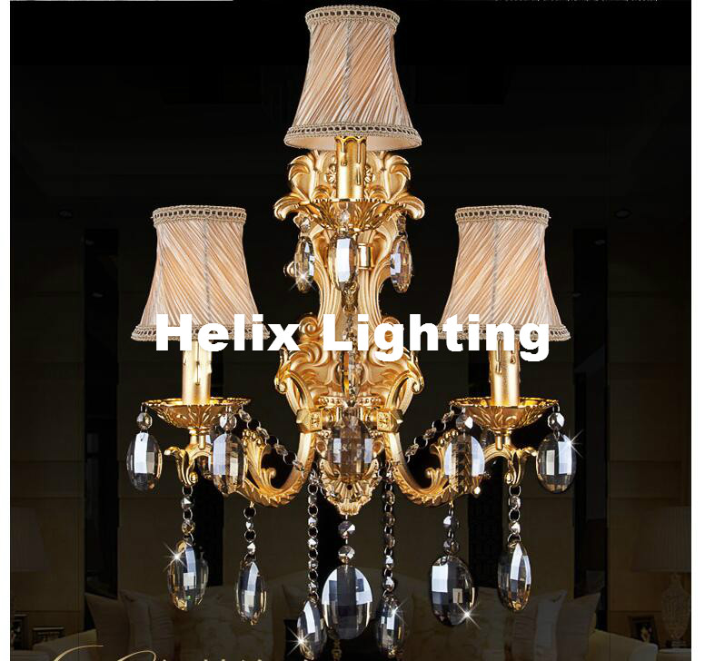 European Crystal Wall Lamps 3 Lights Golden Color Vintage Wall Sconce Light E14 LED Crystal Wall Bracket Bra Bed Wall LightingEuropean Crystal Wall Lamps 3 Lights Golden Color Vintage Wall Sconce Light E14 LED Crystal Wall Bracket Bra Bed Wall Lighting
