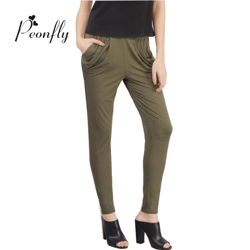 Womens Olive Green Pants Promotion-Shop for Promotional Womens ...