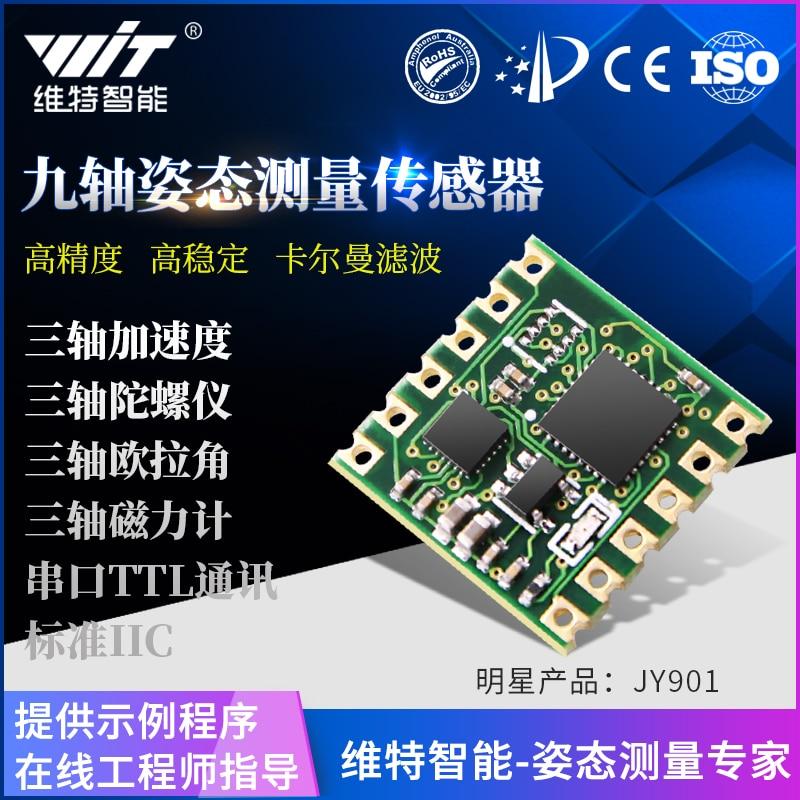 MPU9250 Angular Gyroscope Sensor, JY901 Magnetic Field, Arduino Angle Mpu6050