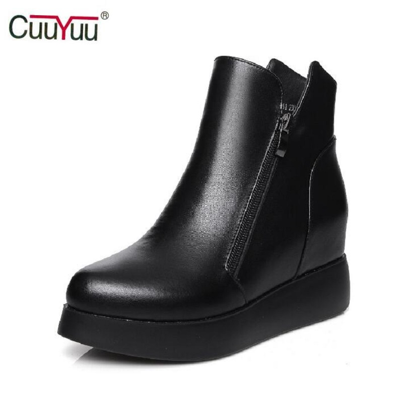 Online Get Cheap Black Wedge Booties -Aliexpress.com | Alibaba Group