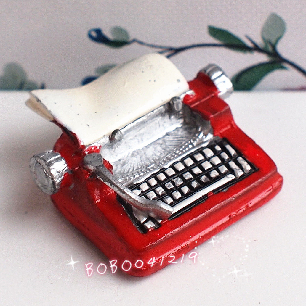 online get cheap writers for children com alibaba group dollhouse miniature 1 12 toy metal red type writer length 2 5cm bm68