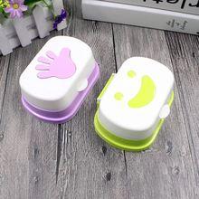 Портативный пластиковый контейнер для мыла и ванной