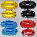 """4pcs red Disc Caliper Brake Cover For brem 1 3 5 Series E36 E46 E28 Z4 535i x6 x5x3 z4 Mini copper fit 15"""" 16"""" 17"""" 18"""" wheels"""