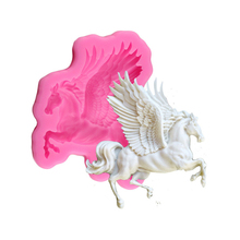 3D Pegasus Unicorn Silicone Mold Horse Candy Chocolate