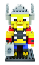 LOZ 9157 Avenger Super Hero Series Thors Educational Diamond Bricks Minifigures Building font b Block b