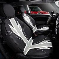 Luxus 3D Eis Slik PVC Leder Autositzbezüge Schutz Für Mini Cooper Eine JCW F56 F55 F60 R55 R56 R60 Countryman Auto Styling