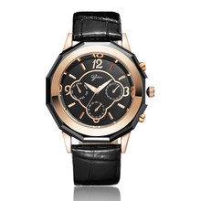YADAN-8008, luxurious beautiful women's watch, precision waterproof watch, quartz watch, leisure leather belt fashion watch