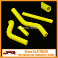 Silicone Radiator Coolant Hose For RM125 01 02 03 04 05 06 07 08 MX Enduro Dirt Bike Racing Offroad Motorcycle Free Shipping