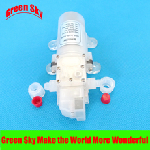 6L/Min 70W automatic pressure switch type with on/off button and dc jack water food grade pump 12v