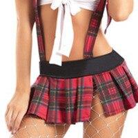 School Girl Costumi Sexy Studente Uniforme Cameriera Fantasia Vestito Studente Uniforme Outfit Costumi Cosplay del Vestito Delle Donne Hot