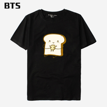 BTS Bread And Butter T Shirt Men Short Sleeve T Shirts High Quality Harajuku Hipster Brand Fashion Tee Shirt Homme De Marque
