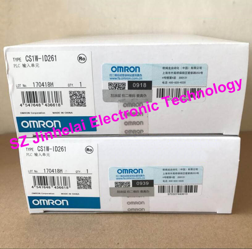 New and original CS1W-ID261 OMRON PLC input unit cs1w scu21 v1 serial communication unit