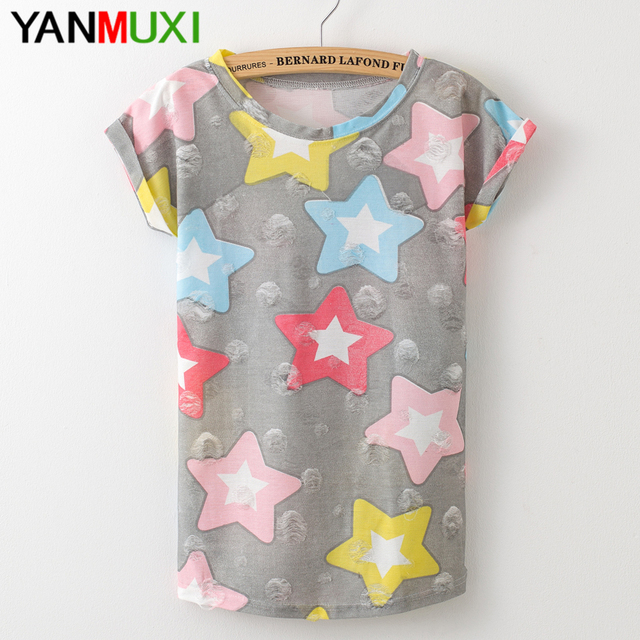 Women Fashion Watermelon Print  T-shirt