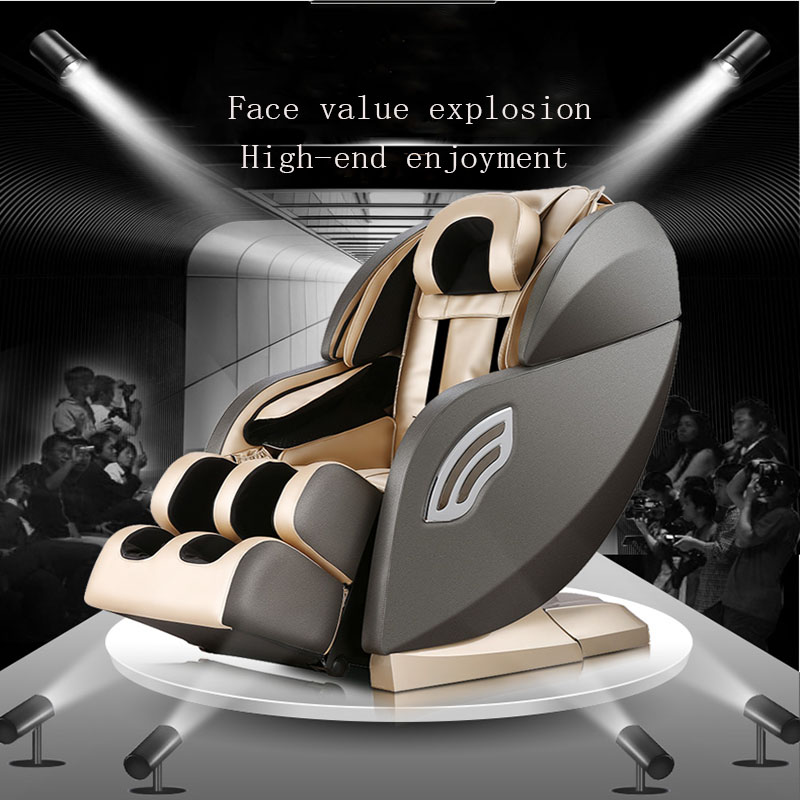 Massage Sofa Body Automatic Space Capsule Kneading Multi-Function Electric Massage Chair 4D Movement Leg Belly Manipulator