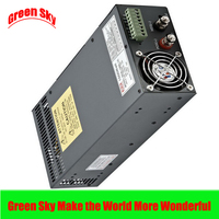 New Arrival Cooling fan Voltage Transformer LED Display DC single output 12v 1000w power supply