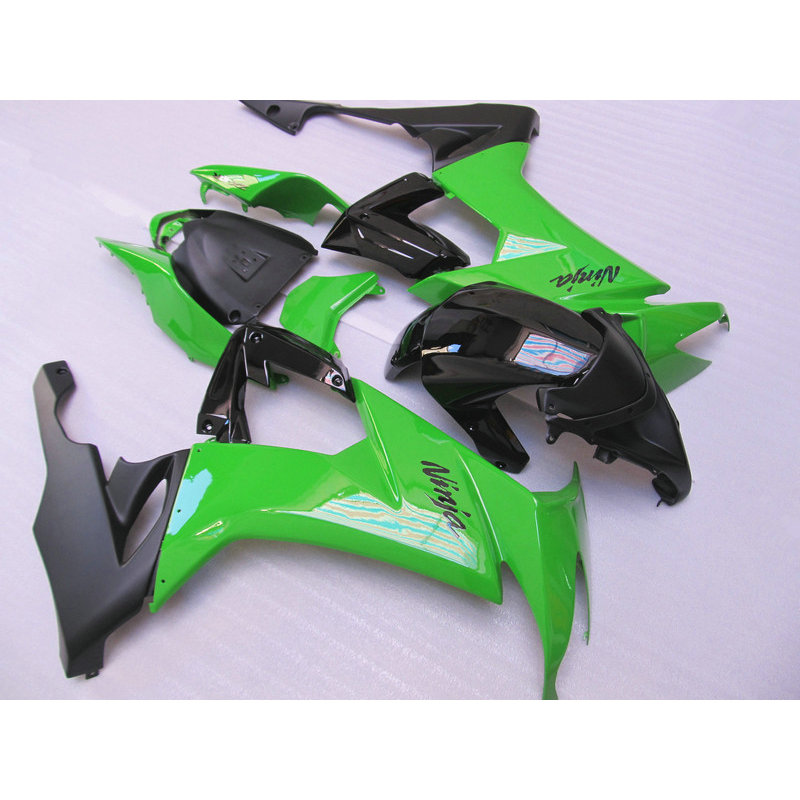 Custom factory ABS plastic fairing set for Kawasaki ZX10R 2008 2009 2010 green black bodywork road Fairings Ninja ZX 10R 08 09 black moto fairing kit for kawasaki ninja zx14r zx 14r zz r1400 zzr1400 2006 2007 2008 2009 2010 2011 fairings custom made c549