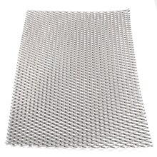 1pc Mayitr 実用金属チタンメッシュシート耐熱耐食性シルバー穿孔拡張プレート 200 ミリメートル * 300 ミリメートル * 0.5 ミリメートル