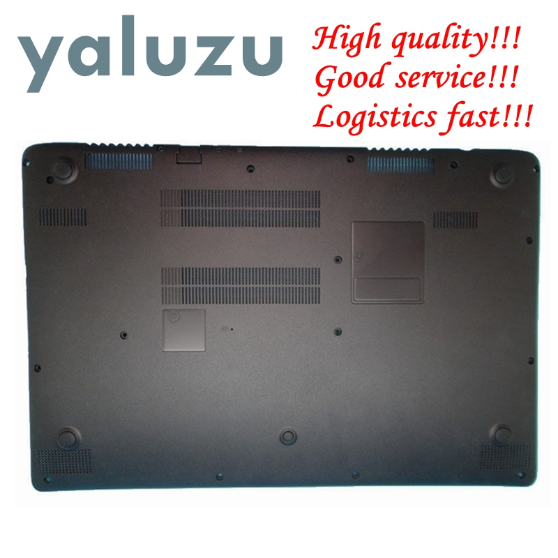 YALUZU used Laptop Bottom Case For Acer Aspire V5-552 V5-552PG V5-552G V5-572 V5-572G V5-572PG V5-573 V5-573G lower cover black diatone v5 0 power hub